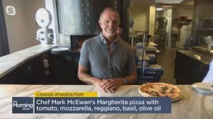Chef Marc McEwan's margherita pizza recipe (05:04)