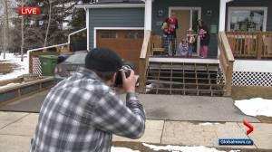 Calgary Cares: Porchraits capture special smiles during coronavirus self-isolation