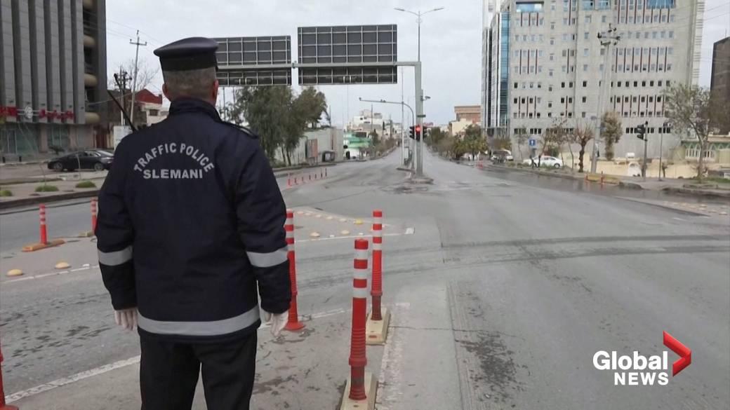 Iraqi Kurdish authorities enforce  curfew implicit    COVID-19 fears'
