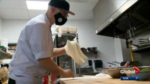 Calgary small business owners react to COVID-19 relief grant (02:14)