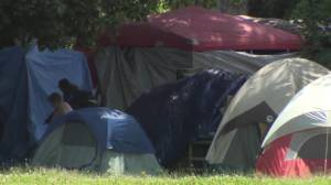 Overnight camping bylaw change won't affect tent cities in Vancouver parks (01:43)