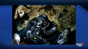 Canadian cave diver and author Jill Heinerth joins Global News Morning