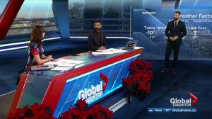 New Global Edmonton anchor Vinesh Pratap welcomed to the noon news (01:05)