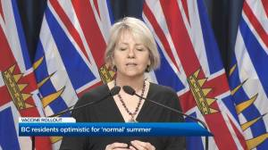 Optimism for 'normal' summer as B.C. enters phase 2 of vaccine rollout (01:47)