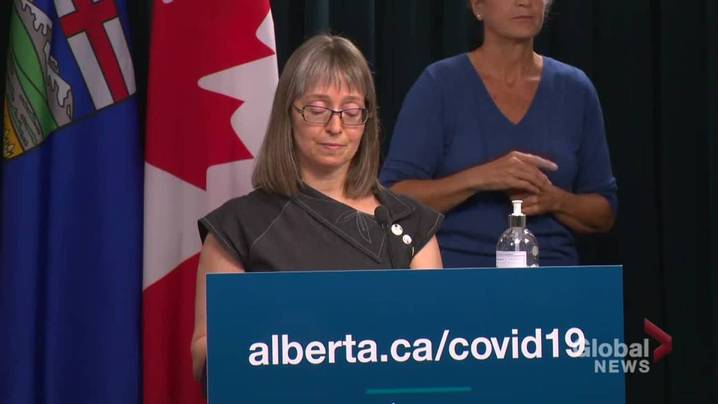 Click to play video: 'Alberta must prepare for other health concerns as COVID-19 concern decreases: Hinshaw'