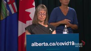 Alberta must prepare for other health concerns as COVID-19 concern decreases: Hinshaw (03:30)