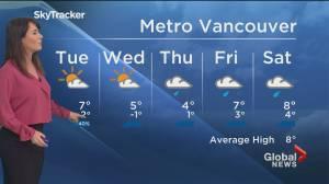 B.C. evening weather forecast: Feb 15 (01:54)