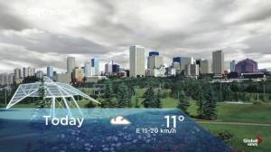 Edmonton early morning weather forecast: Tuesday, September 10, 2019