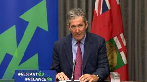 Coronavirus: Pallister pushes for Winnipeg to be named a CFL hub city, should season go ahead (01:02)