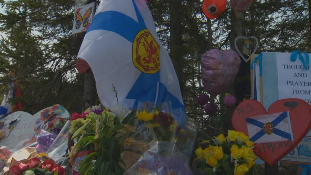 Click to play video 'Six-Month Anniversary of Nova Scotia Mass Shooting'