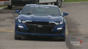 A new Camaro for $10? Calgary school raffles off car to raise money for students' families