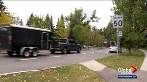 Calgary committee recommends lowering residential speed limits (01:44)