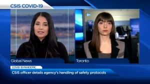 'This is lethal': CSIS staffer pushed for mandatory masking before workplace COVID-19 outbreaks (02:21)