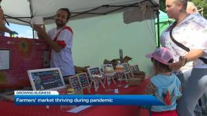 Farmers market thriving during pandemic