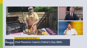 Easy and delicious Father's Day barbeque recipes (06:15)