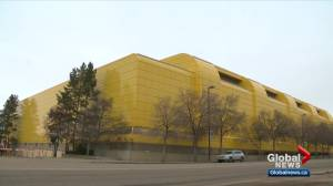 Butterdome being turned into alternate hospital as Alberta records 1,270 new COVID-19 cases (03:11)