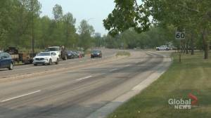 Southwest Calgary residents concerned with speed, traffic from ring road (01:43)