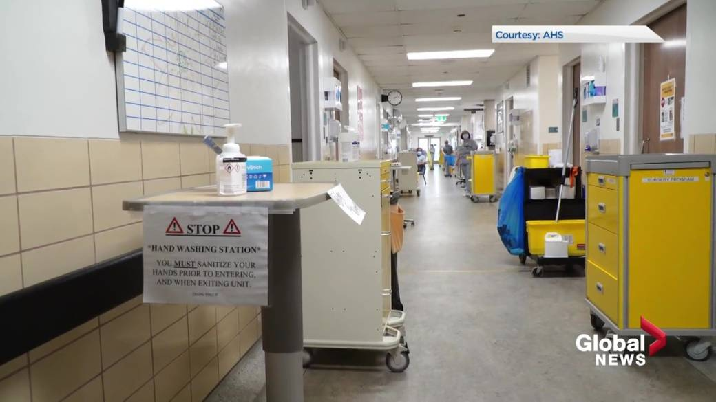 Click to play video: 'No indicators for reopening as pressure grows on Alberta's health system'