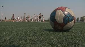 Canada's national women's soccer team inspiring younger generations (01:30)
