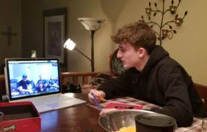 The struggle to distance social teens during the COVID-19 pandemic