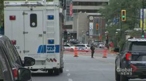 Montreal police investigating slaying of man, 23, in downtown core (00:36)