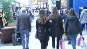 Peterborough shoppers embrace Black Friday (02:10)