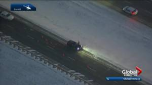 Suspicious death on Highway 21 northeast of Edmonton (01:42)
