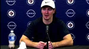RAW: Winnipeg Jets Mark Scheifele Interview – Feb. 15 (02:49)