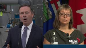 Some Albertans question lack of leadership amid COVID-19 fourth wave warnings (02:01)