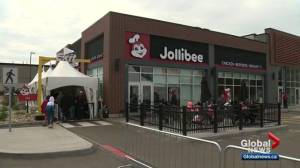 Jollibee hype has neighbouring Edmonton businesses feeling the pinch