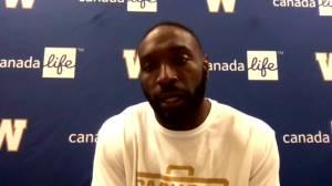 RAW: Blue Bombers Willie Jefferson Interview – Oct. 15 (06:26)