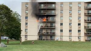 London, Ont. fire crews tend to west end apartment blaze