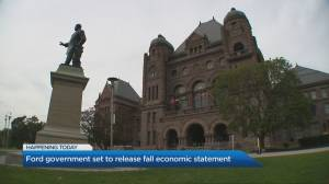 Ford government set to release fall economic statement