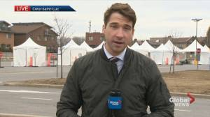New COVID-19 testing centre opens in Côte-Saint-Luc (02:03)