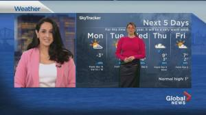 Global News Morning weather forecast: March 8, 2021 (01:23)