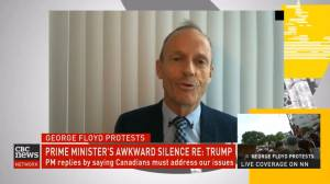 Former Canadian Alliance leader Stockwell Day compares racism to his experience of being mocked for wearing glasses