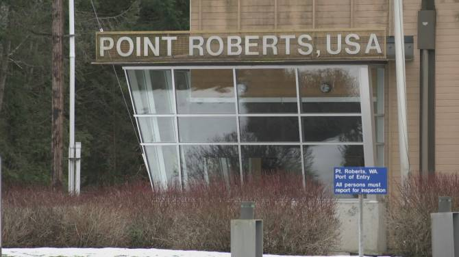 Click to play video: Point Roberts plan to help vaccinate Canadians