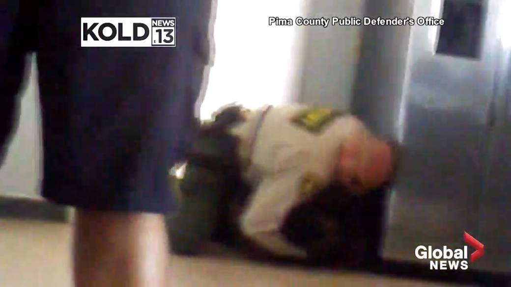 Footage of Arizona deputy restraining a teenage quadruple amputee sparks probe