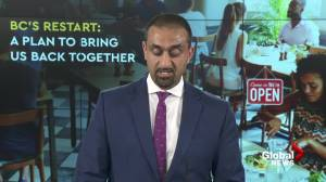 COVID-19: 'A thank you to the business community': B.C. Minister Ravi Kahlon (02:20)