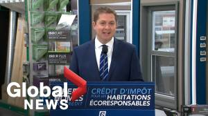 Federal Election 2019: Scheer announces Green Home Tax Credit initiative