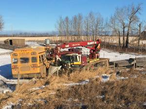 Students in hospital following school bus collision in Smoky Lake, Alta.