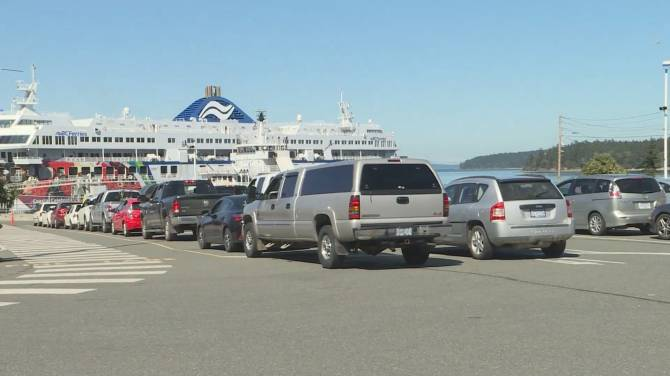 Click to play video: New travel restrictions to hit BC Ferries travelers