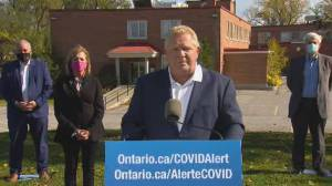 Ontario Premier Doug Ford announces $8.7 million for Prince Edward County Memorial Hospital (02:51)