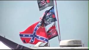 Trump sets off debate over NASCAR, Confederate flag