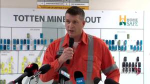 All 39 miners trapped in mine near Sudbury, Ont. 'safe and sound' (00:35)