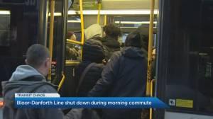 Toronto's Bloor-Danforth subway line shut down during Wednesday morning
