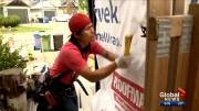 Play video: Calgary homeowners warned about pop-up siding companies