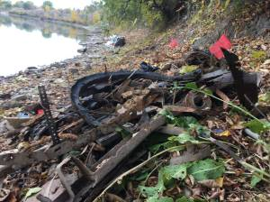 Edmonton volunteer sounds alarm about mess in river valley