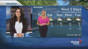 Global News Morning weather forecast: October 16, 2020