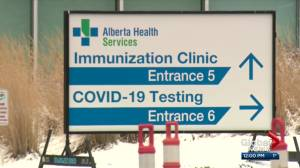 Premier says Alberta on track to administer 300K COVID-19 vaccines per week (03:29)